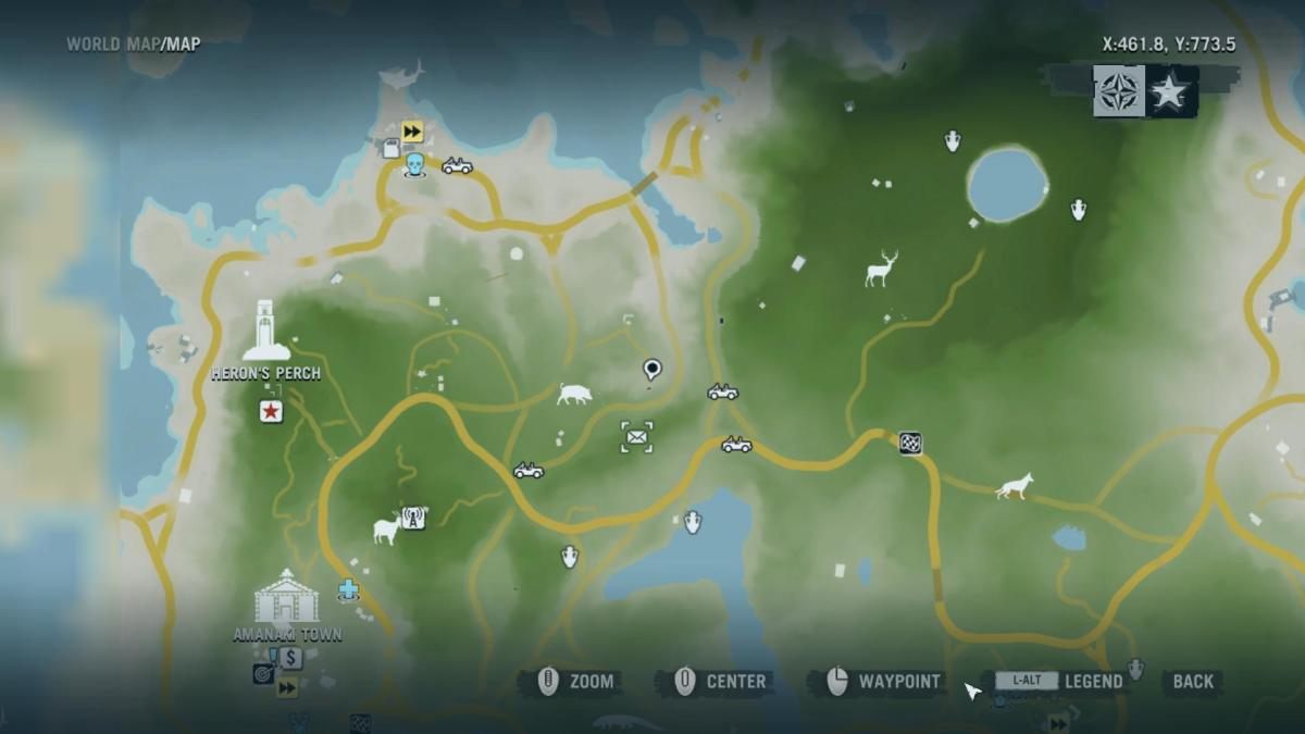 Dead Letters - Gameplay 02 Map: Far Cry 3 Letters of the Lost #3, Mori's Letter.
