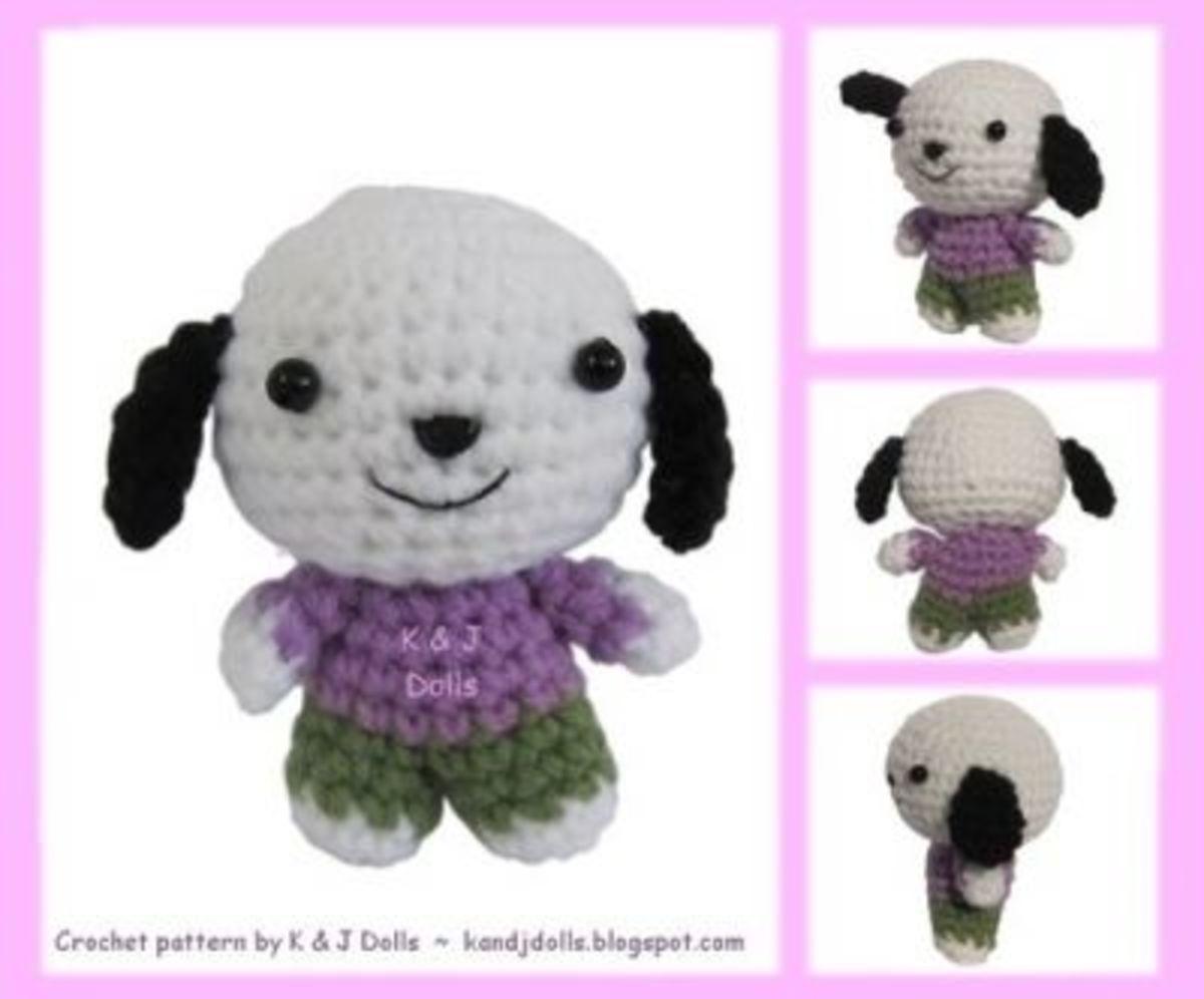 Cute Dog Doll