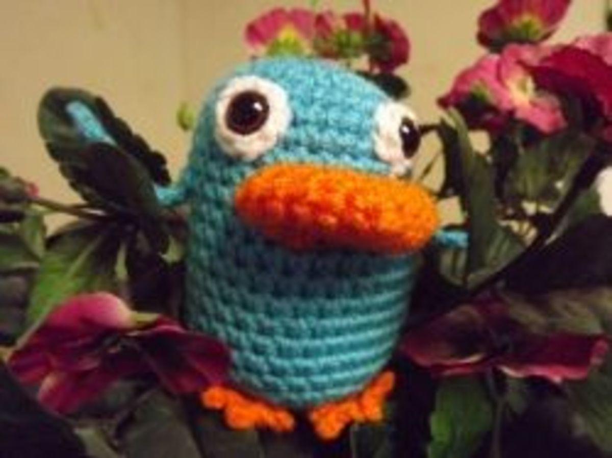 Agent P Crochet Pattern
