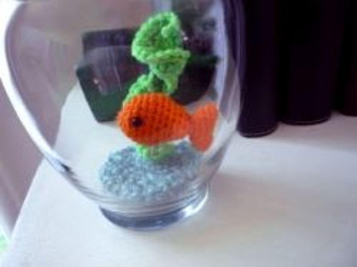 Free Crochet Fish Pattern