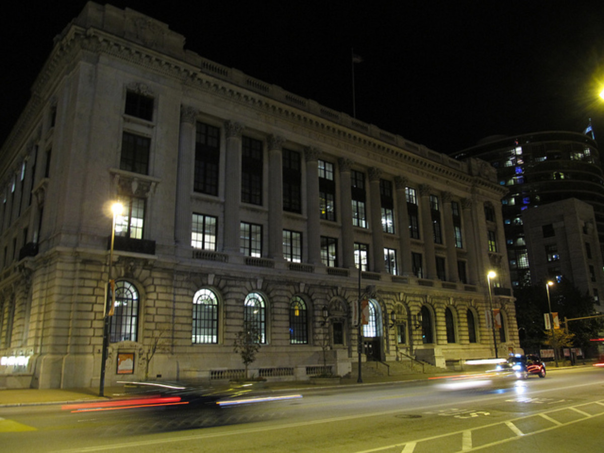 Historic Cleveland Public Library