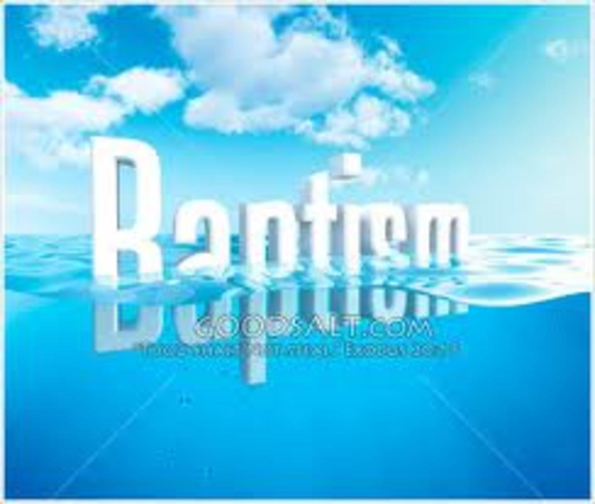 BAPTISM now SAVES Us?
