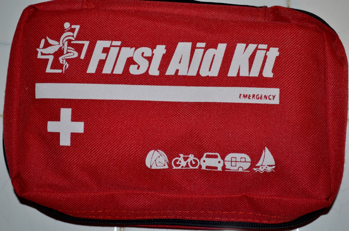 A first aid kit is one of the many things you should have in your car at all times.