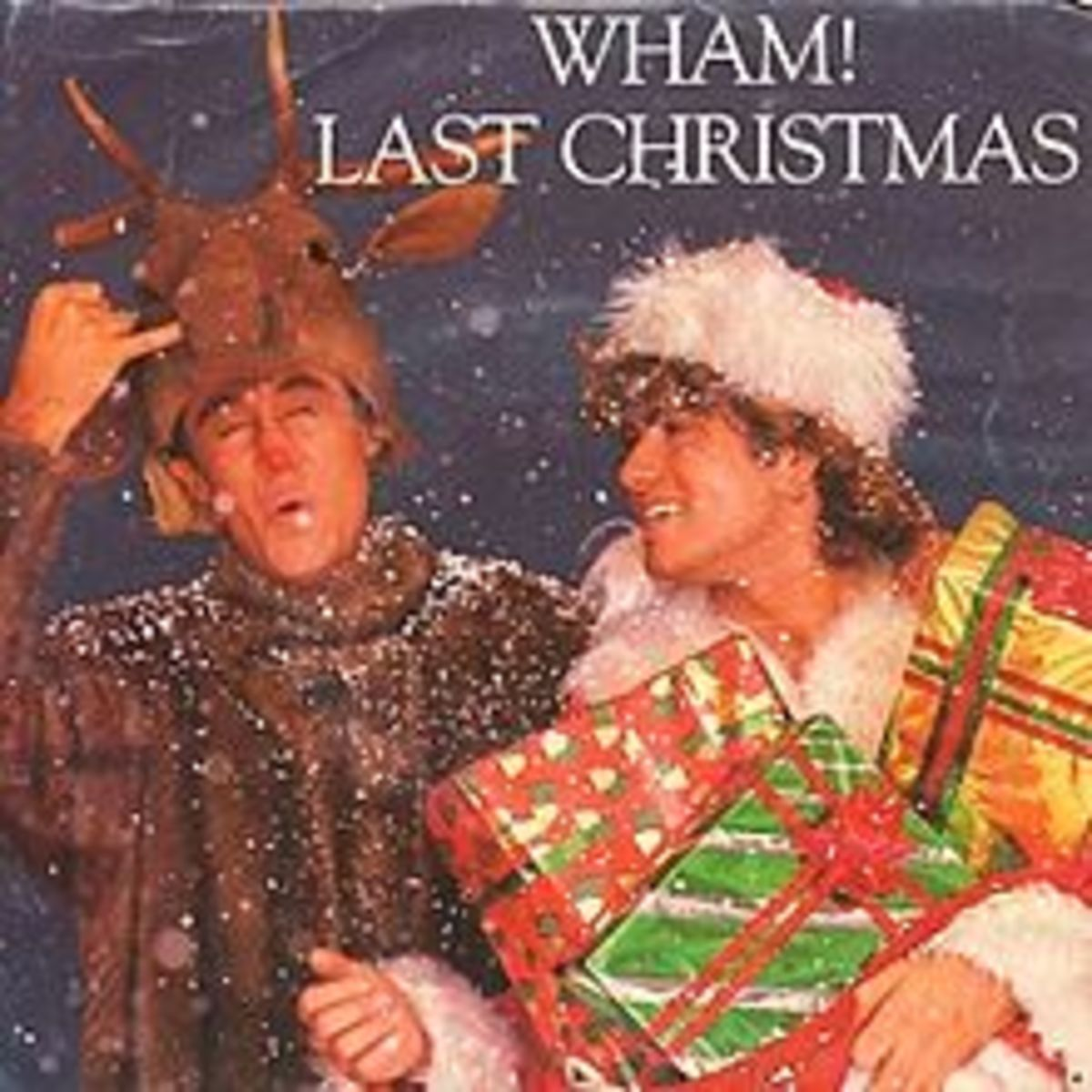 "The Original Cover of ""Last Christmas"" in 1984 with Wham!"