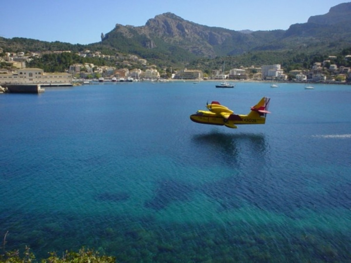 The Fire Services in Puerto Soller
