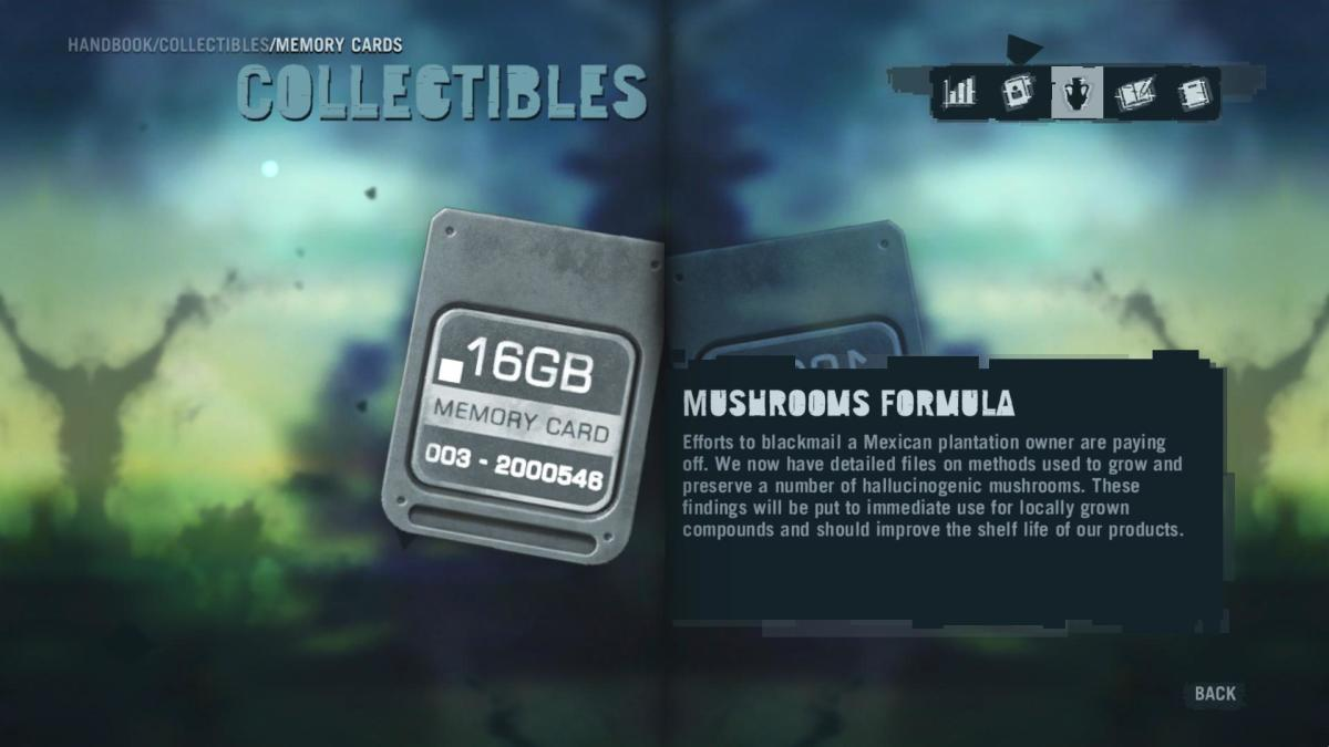 Far Cry 3 Collectibles - Memory to Spare achievement: Memory Card 17.