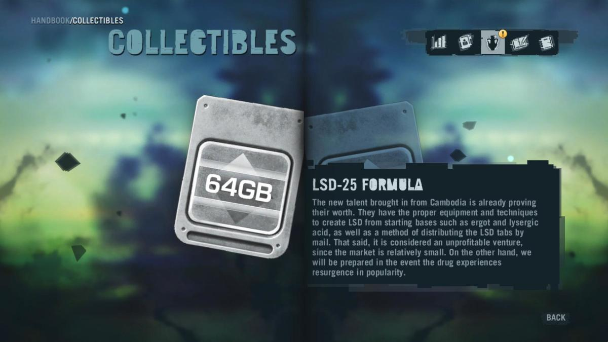 Far Cry 3 Collectibles - Memory to Spare achievement: Memory Card 14.