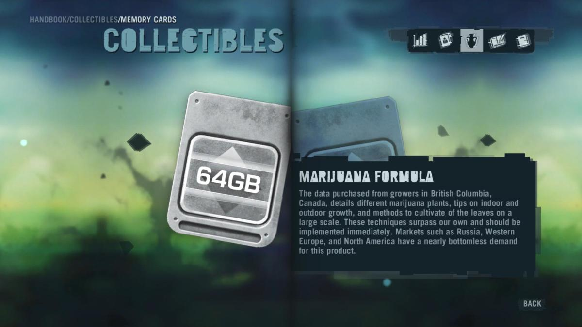 Far Cry 3 Collectibles - Memory to Spare achievement: Memory Card 15.