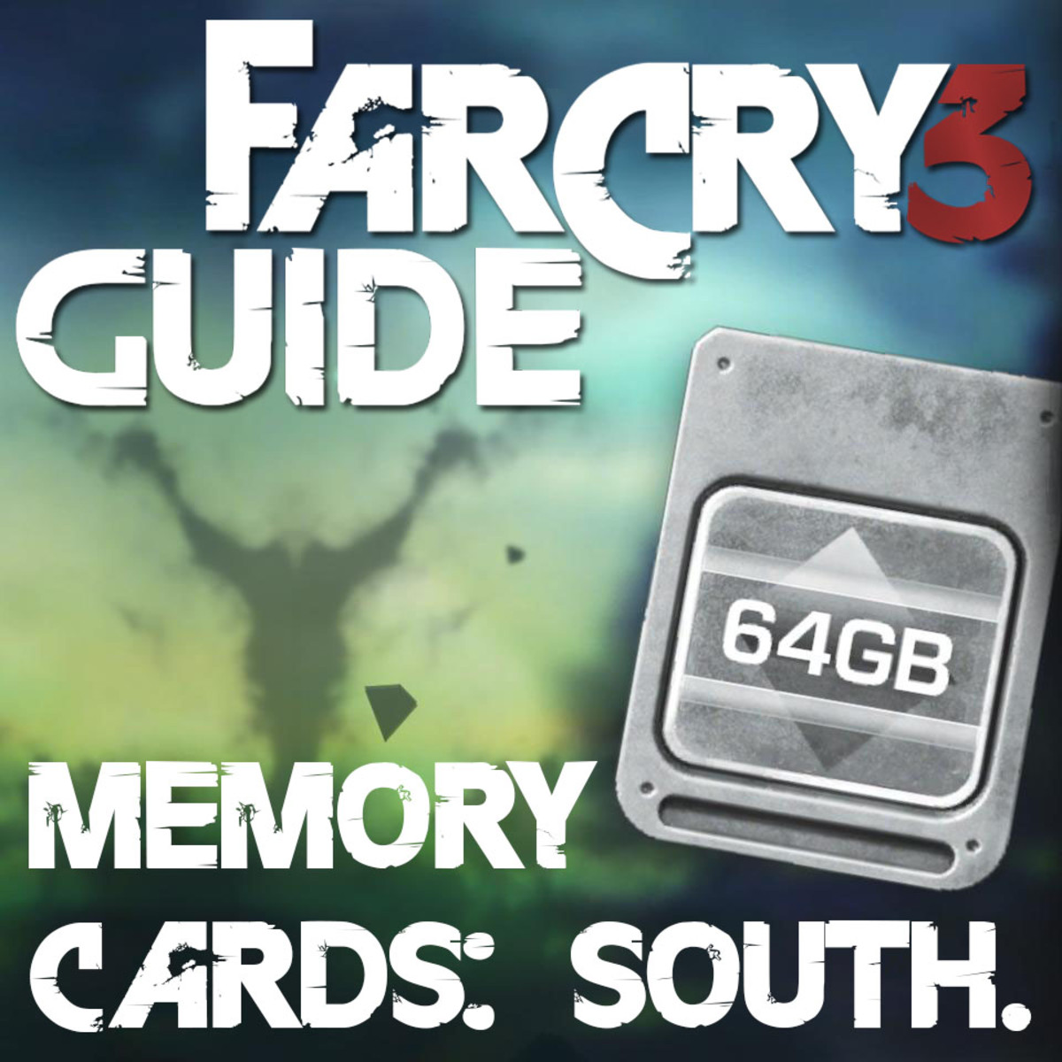 Far Cry 3 Memory Cards Locations Guide - Memory to Spare - South Island.