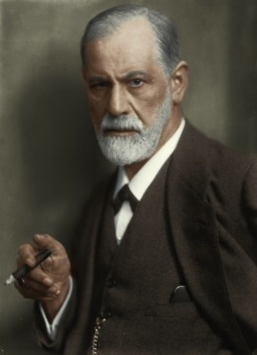 Big Freud himself - pondering about any other sexual desires young children might have.
