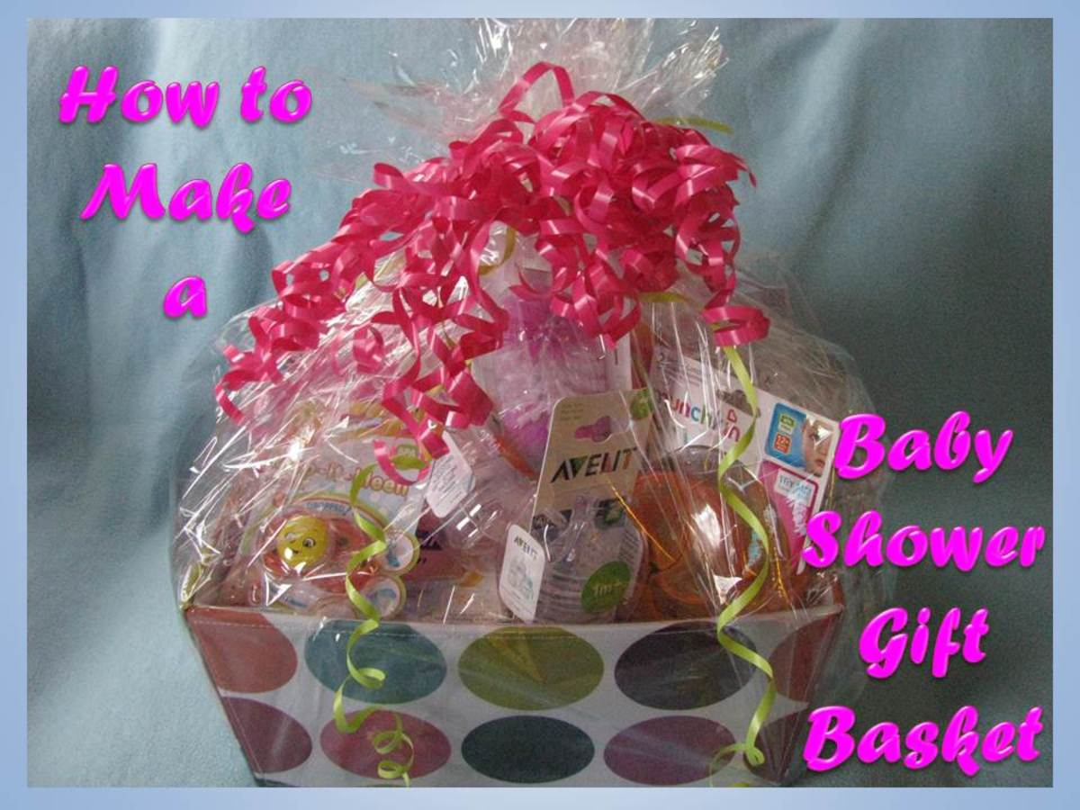 How to Make a Baby Shower Gift Basket