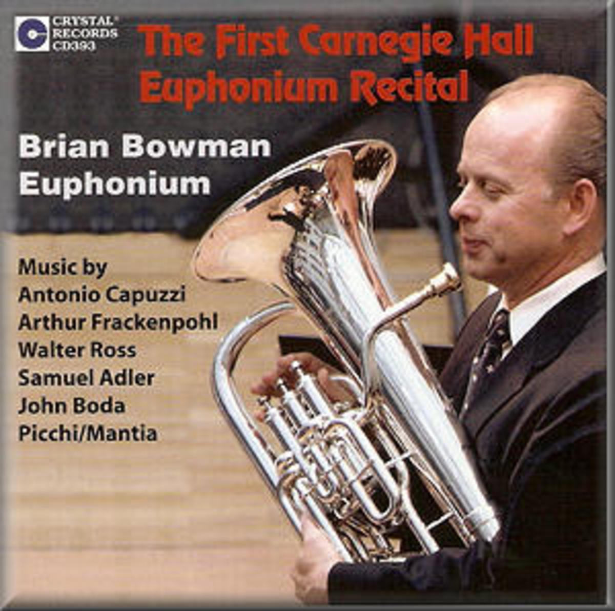 The Euphonium and the Euphonium Player: Mike Friedman aka mckbirdbks
