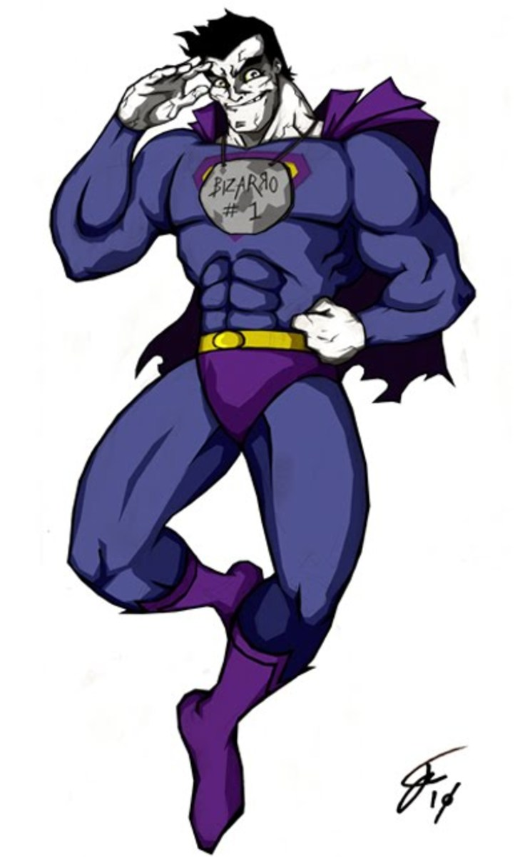 Bizarro as he is today