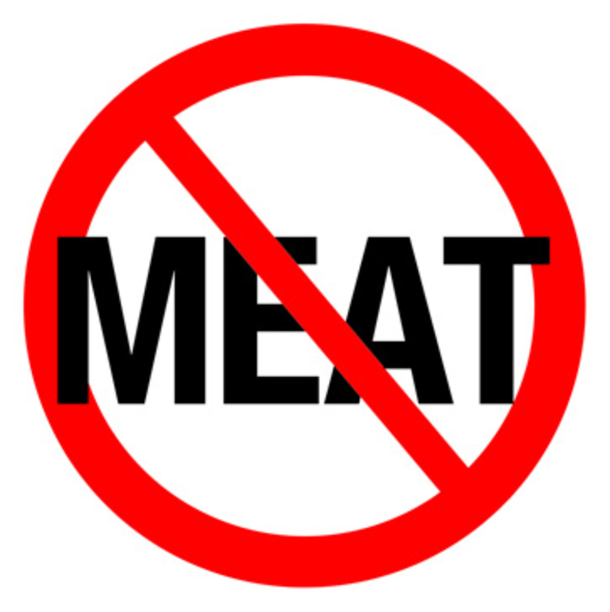 NO MEAT DIET