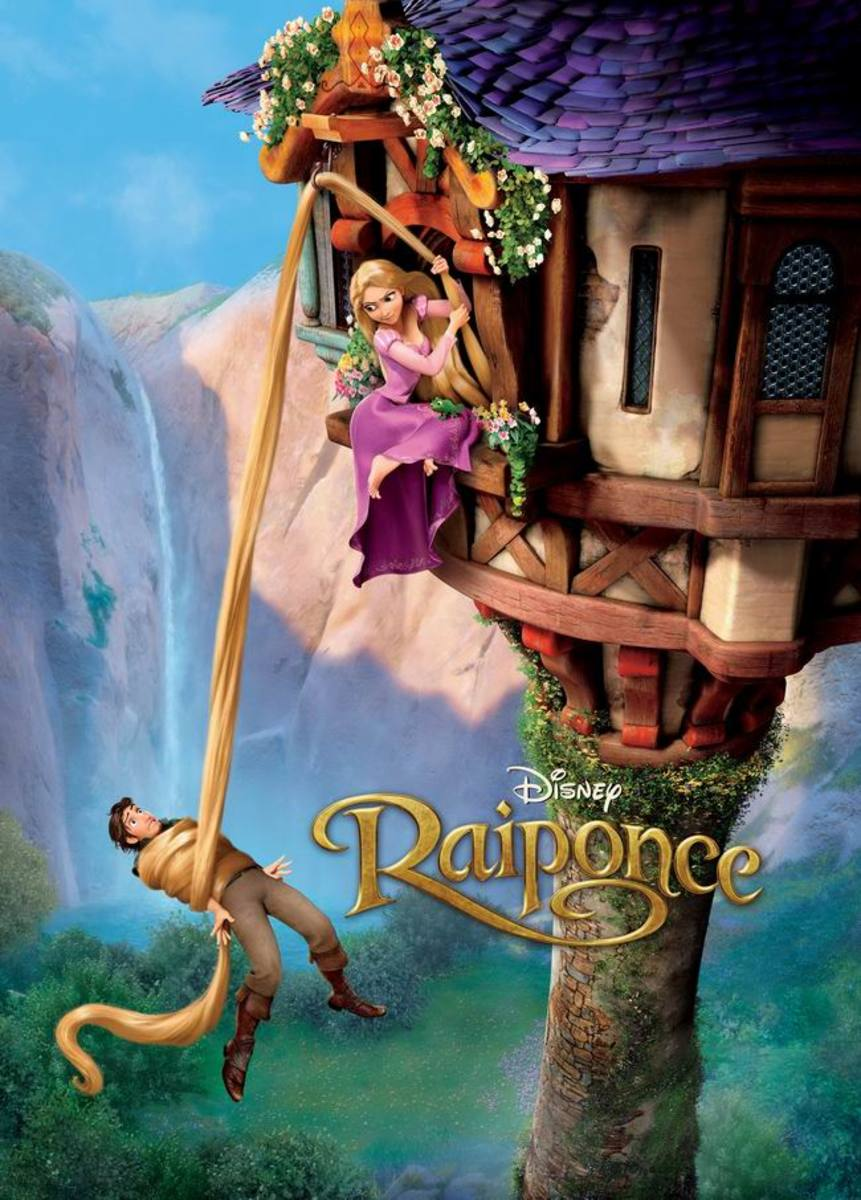 Tangled (2010) French poster