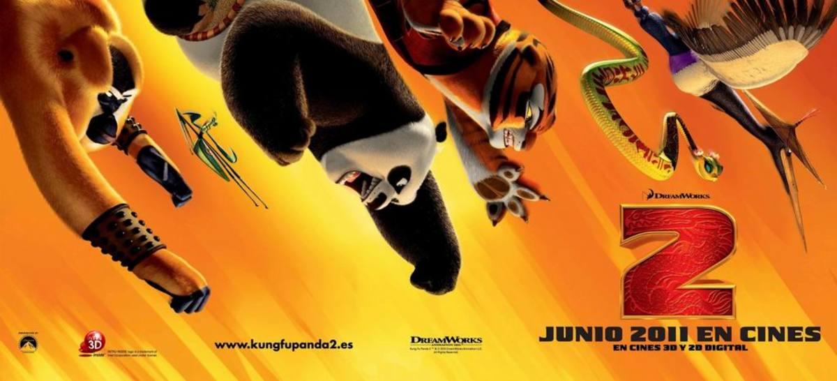 Kung Fu Panda 2 (2011) Spanish poster