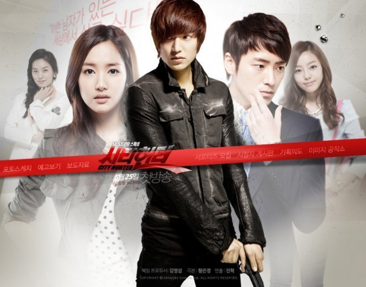 City Hunter-The Best Korean Action Drama Series