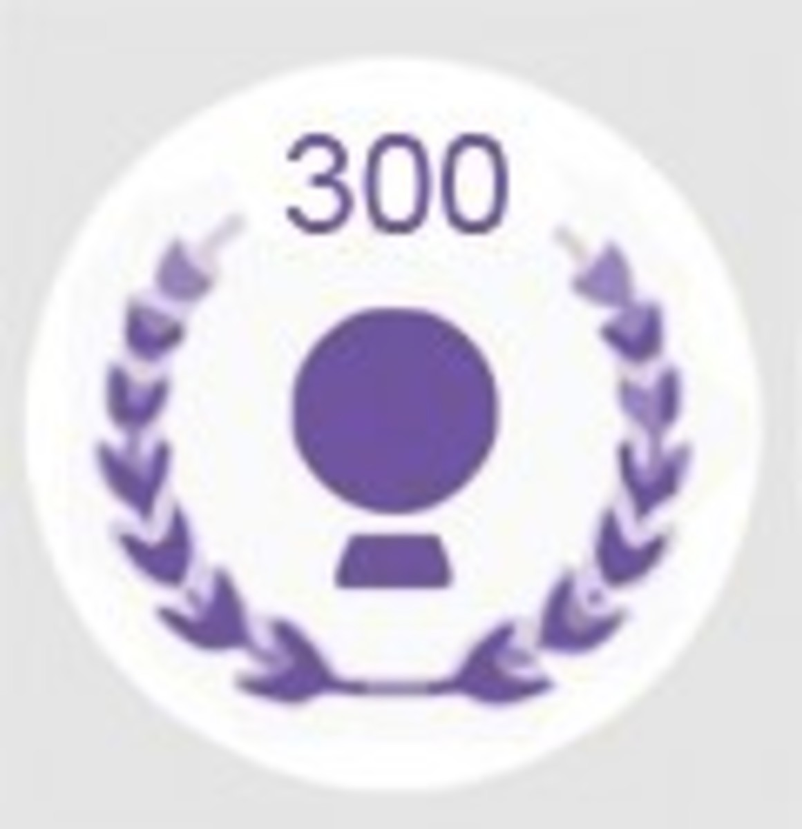 HubPages 300 Follower Accolade