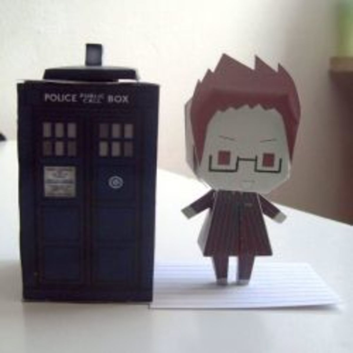 Doctor Who Papercraft Printables