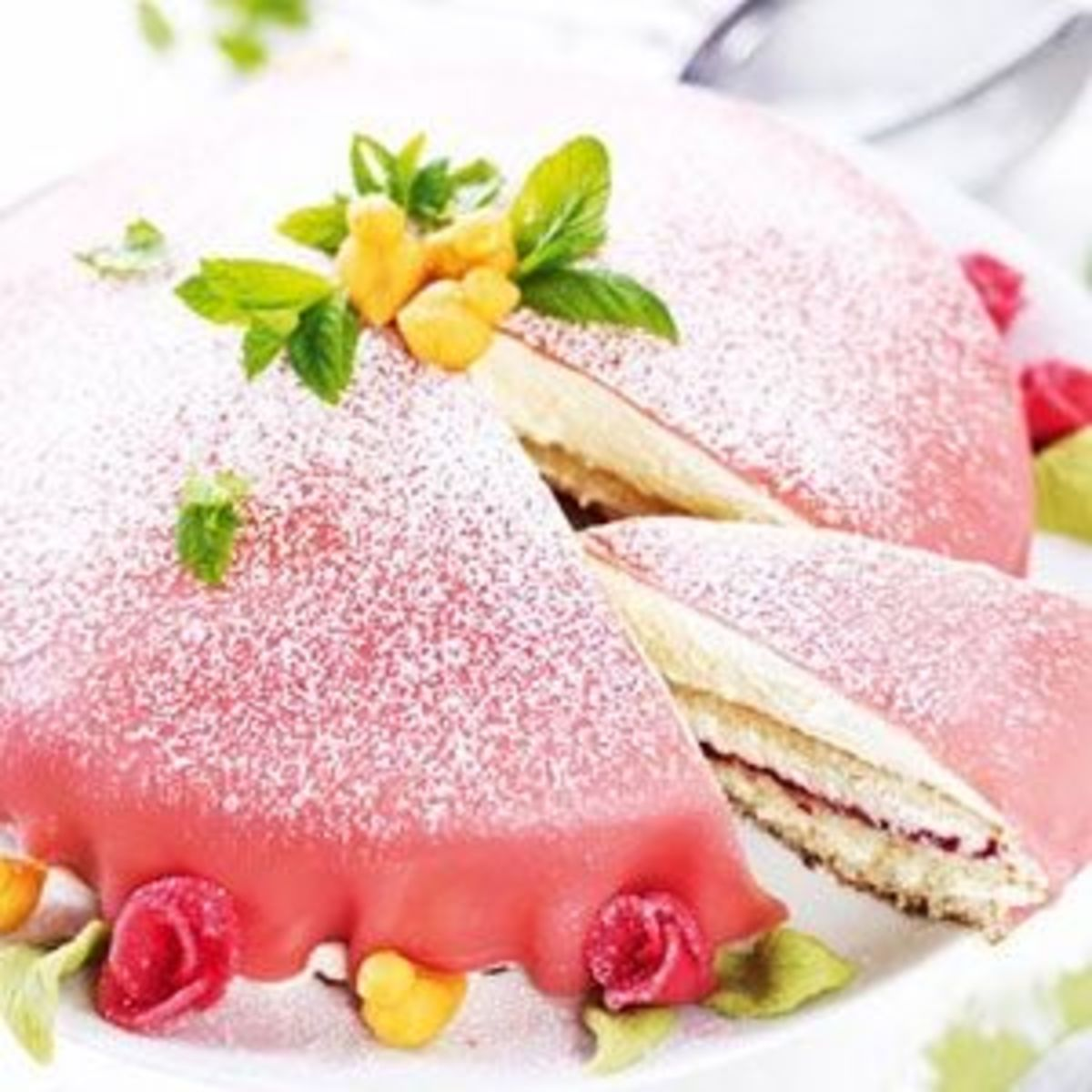 Serve your guests a Royal Princess Cake recipe found at http://www.saveur.com/Photo Credit : Joel Wareus