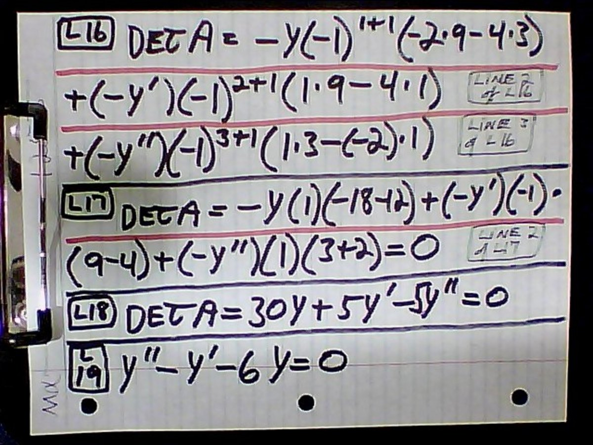 differential-equations-part-1-elimination-of-arbitrary-constants