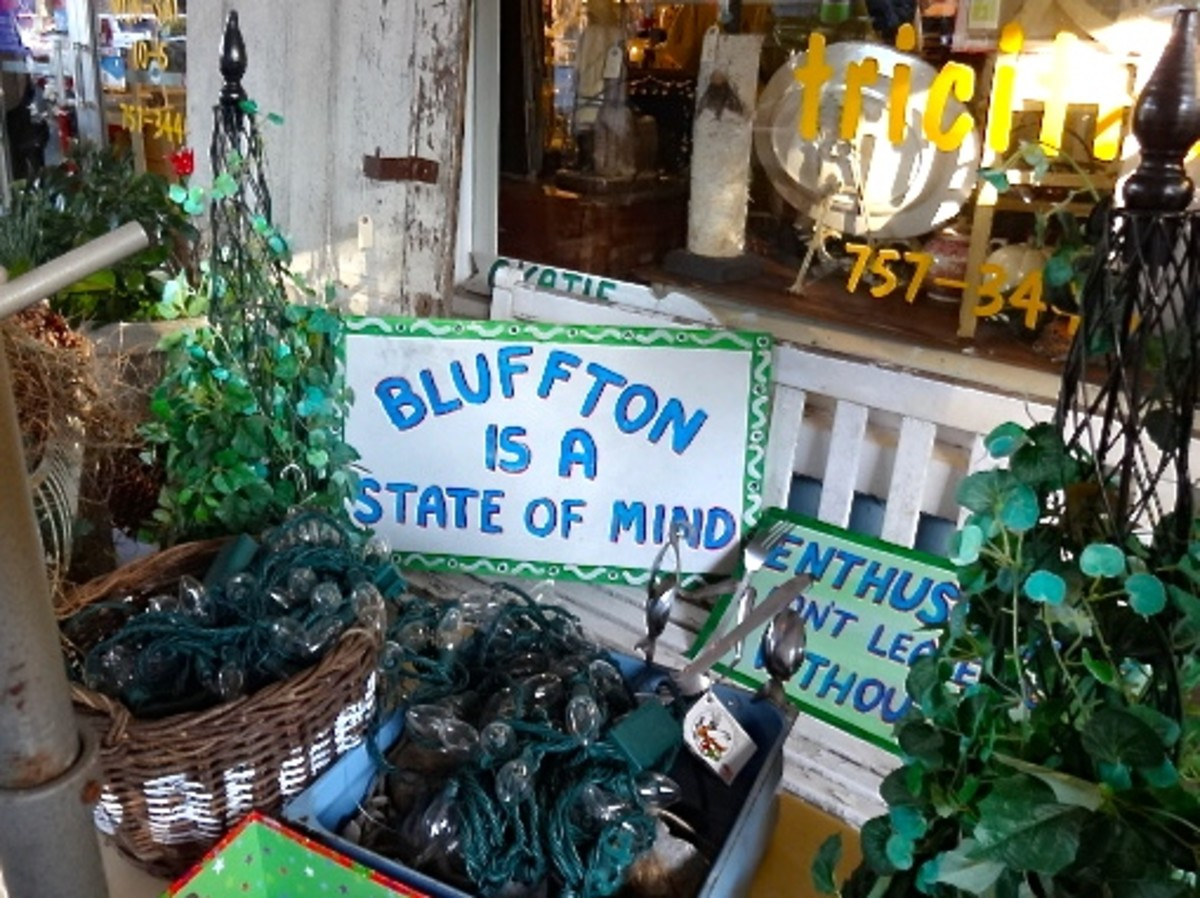 An Outdoor Gift Shop - Bluffton, SC