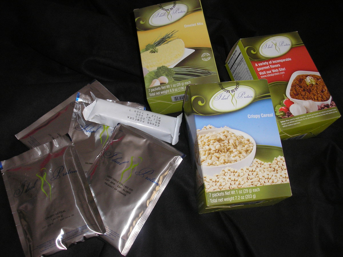The Ideal Protein Diet - or How I survived on Space food