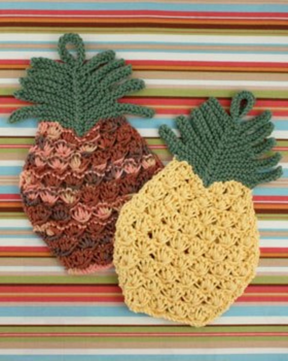 Pineapple Dish Cloth