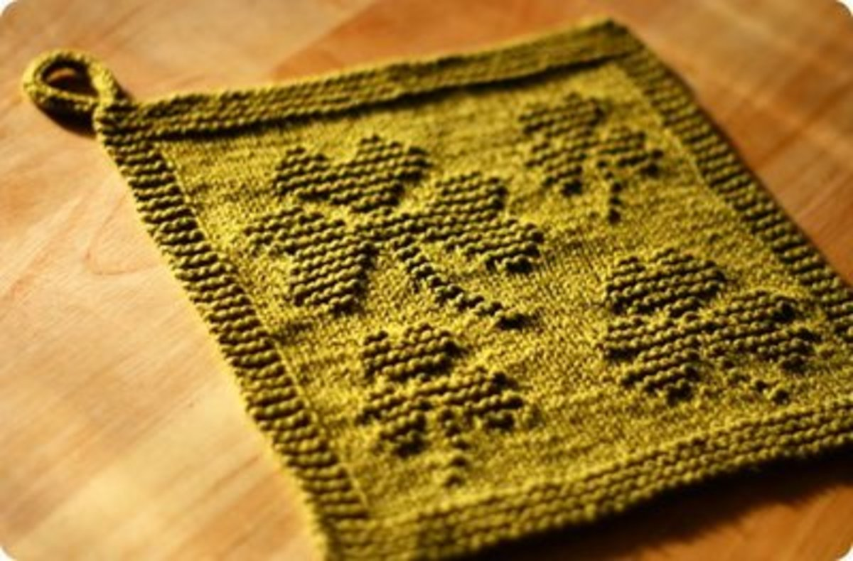 Shamrock Dish Cloth