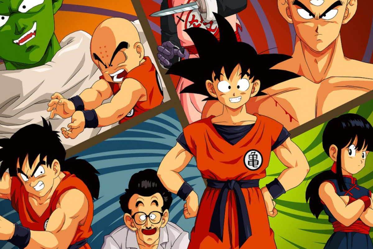 Son Goku and friends World Martial Arts Competition