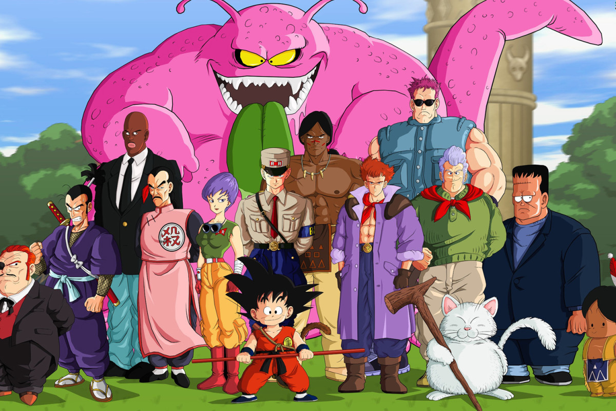 Son Goku and friends early adventure