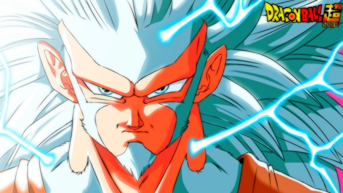 Dragonball Z Son Goku White God form wallpaper