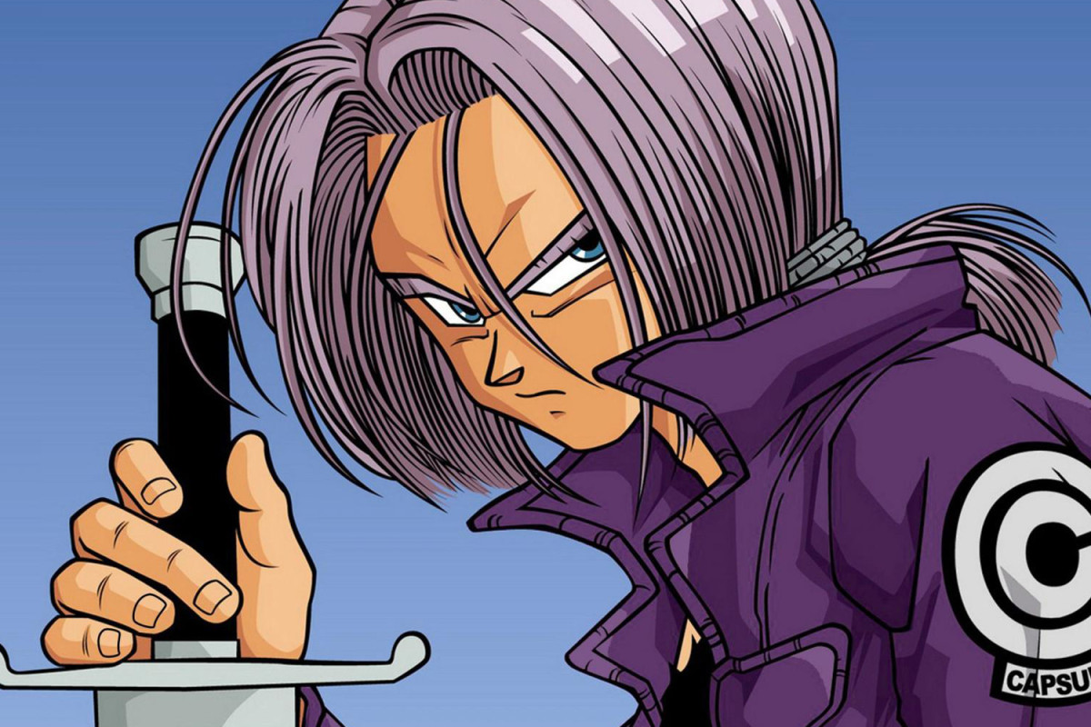 Future Trunks with sword