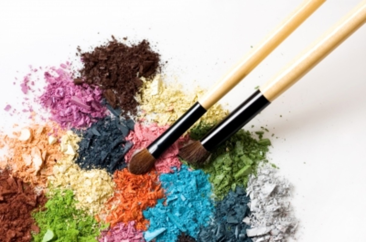 Do you have any old powder eyeshadows and blush? Making them into lip gloss is a great way to use up unwanted or unused colors.