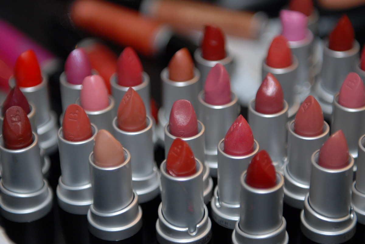 Using old lipsticks or lipsticks nearly finished are great for making into a DIY lip gloss.