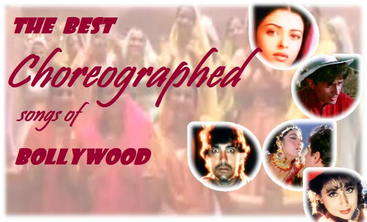 Great choreographed numbers of Bollywood