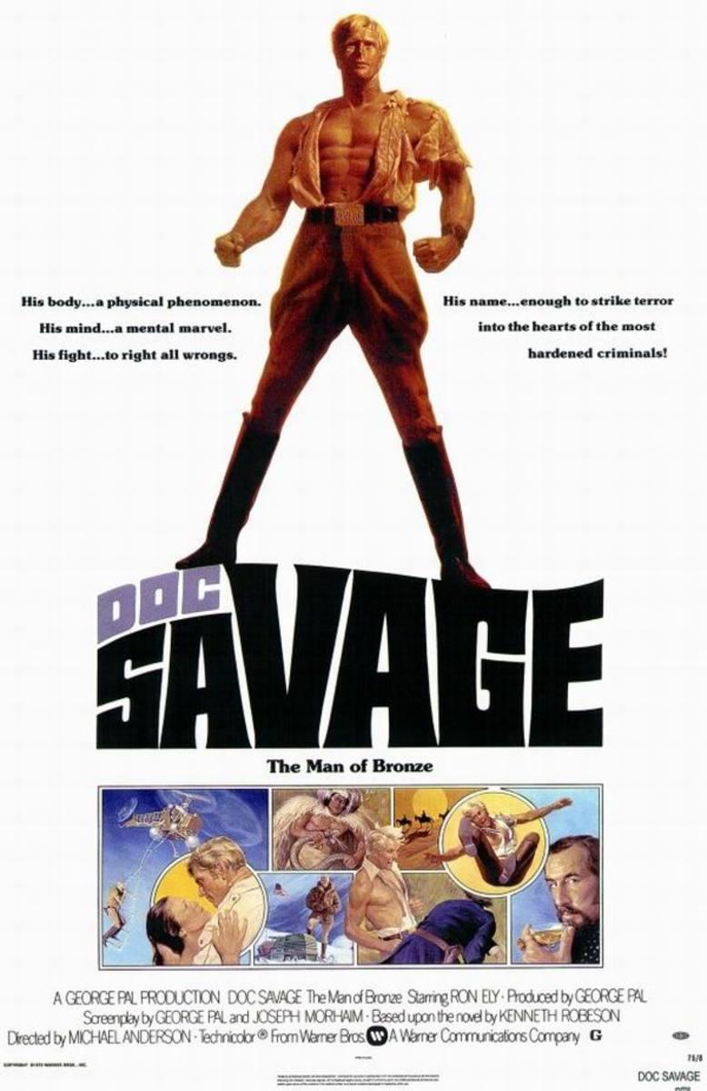 Doc Savage - The Man of Bronze (1975)