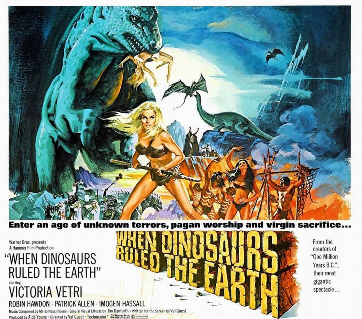 When Dinosaur's Ruled the Earth (1970)