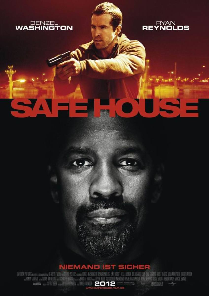 Safe House (2012) German poster