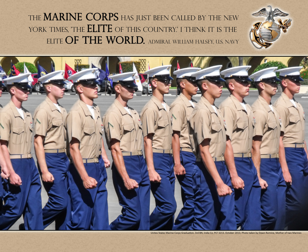 Marine Corps Graduation in San Diego MCRD, my youngest Marine graduated in 2011 from boot camp