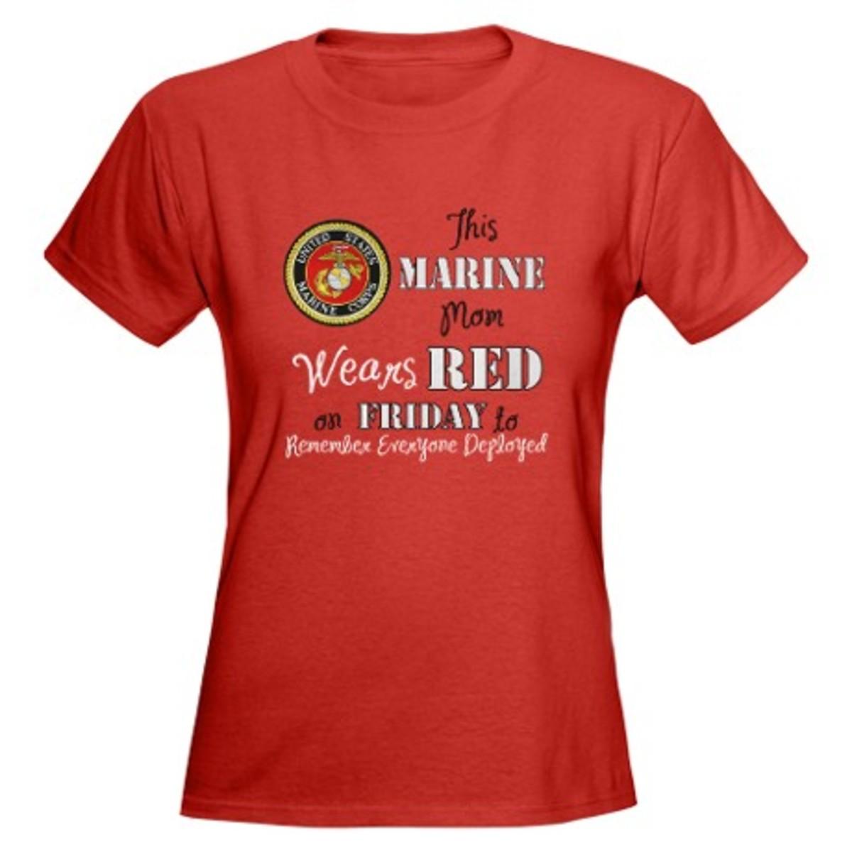 Order Red Friday Shirt on CafePress