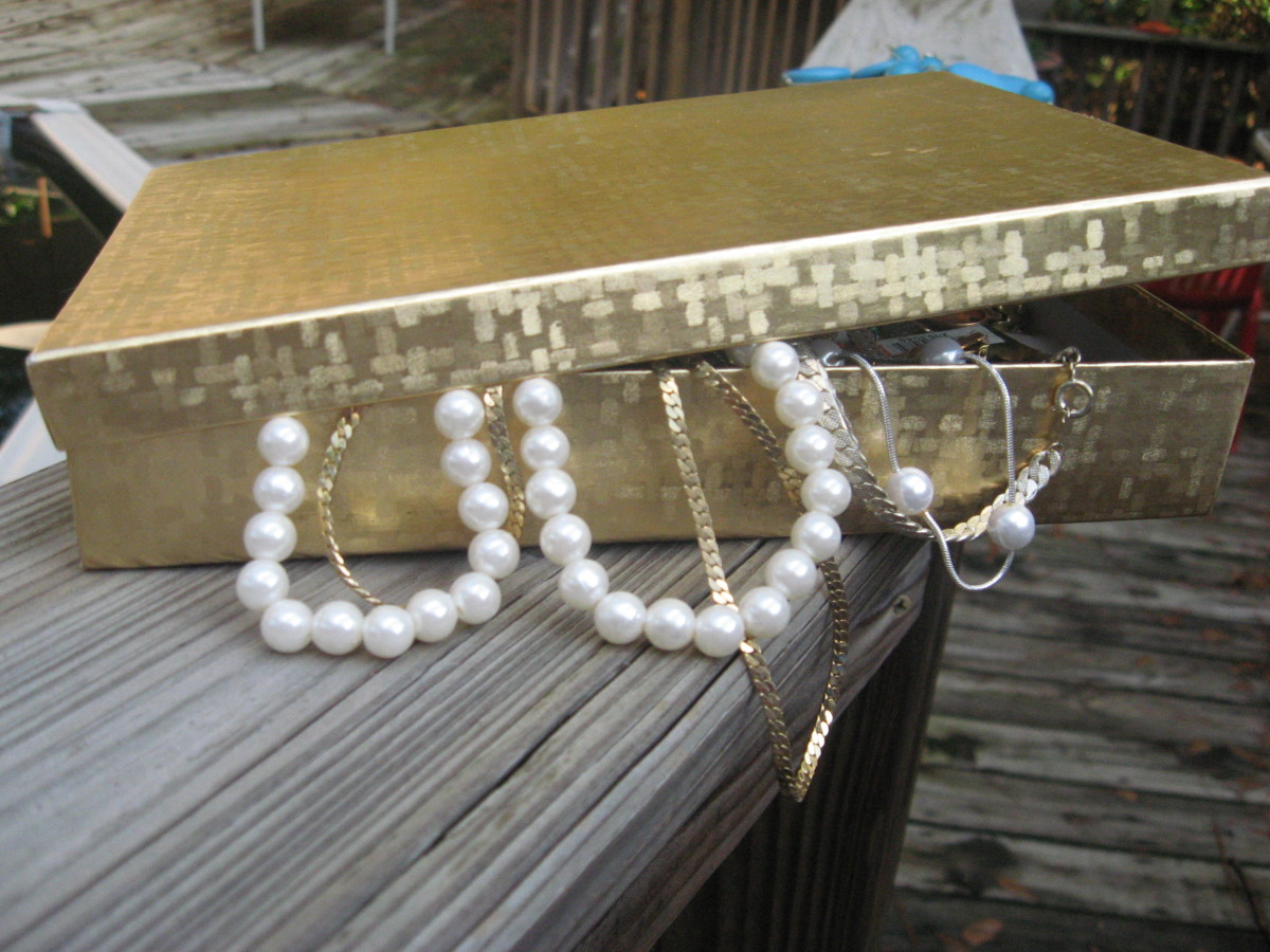 Used Jewelry - or - Vintage Jewelry?