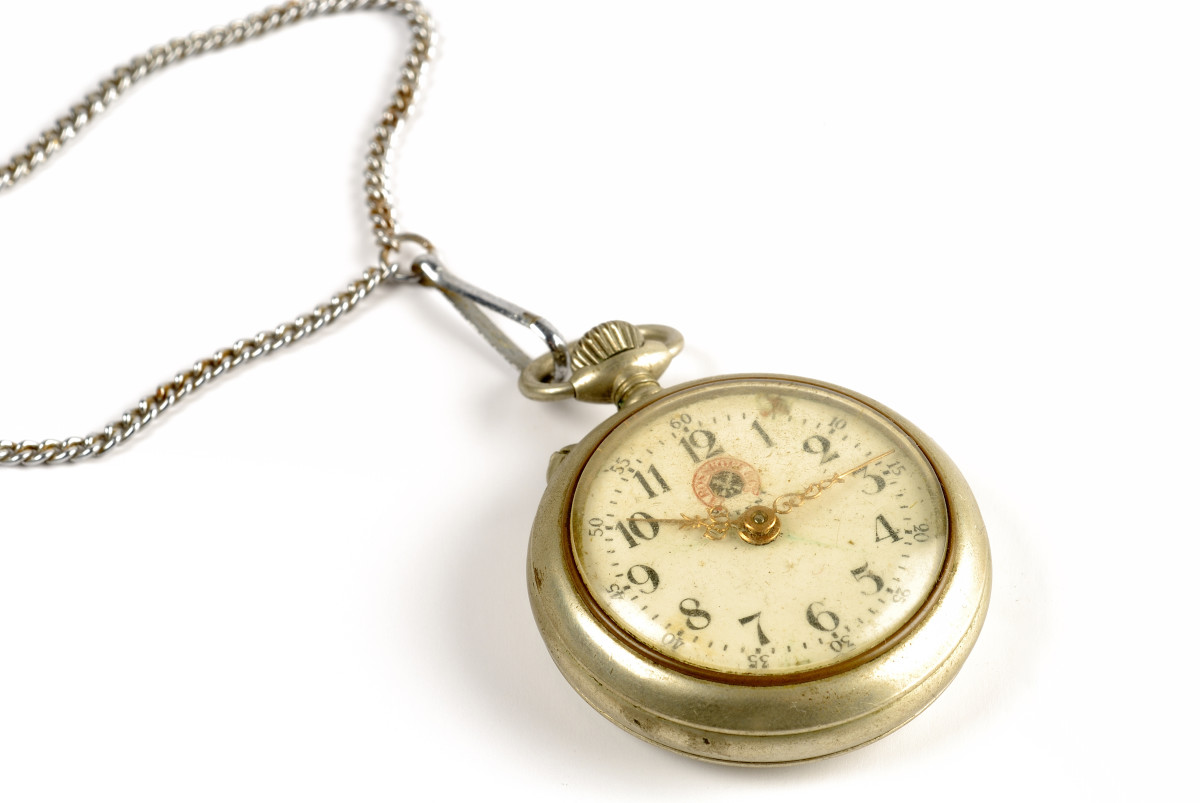 Victorian jewelry included pocket watches.