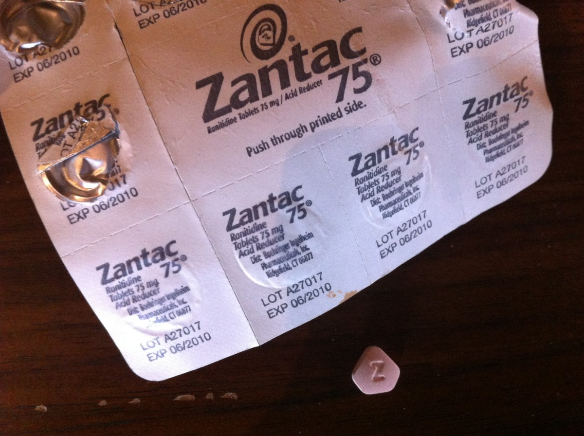 Ranitidine (Zantac) is often prescribed for pregnant women with severe acid reflux.