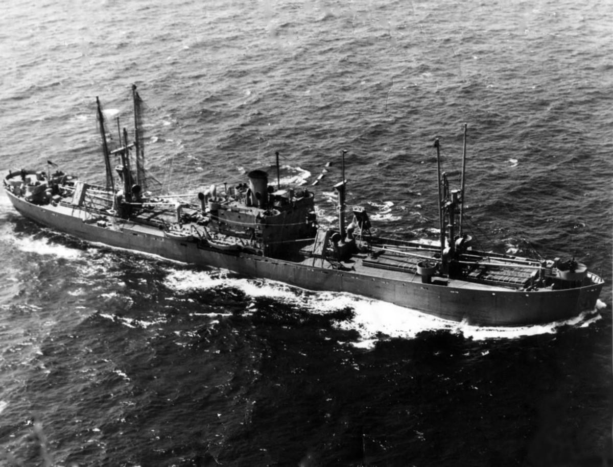 SS Richard Montgomery - Massive explosion waiting to happen