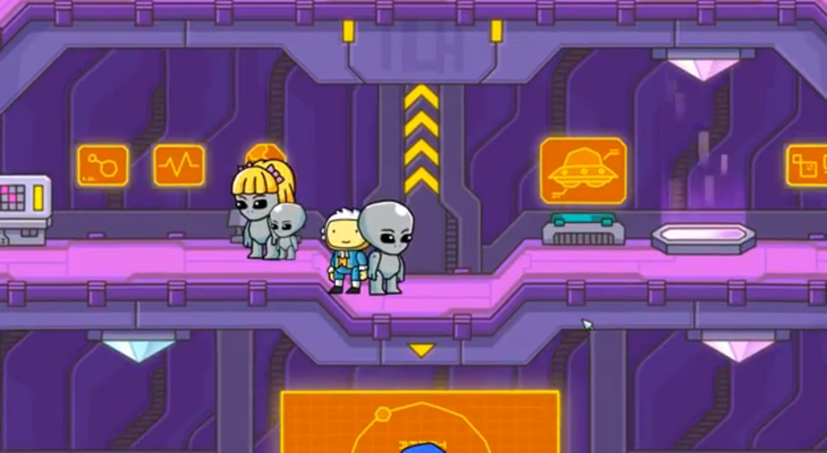 Scribblenauts Unlimited walkthrough: Palindromeda and Syntax Station