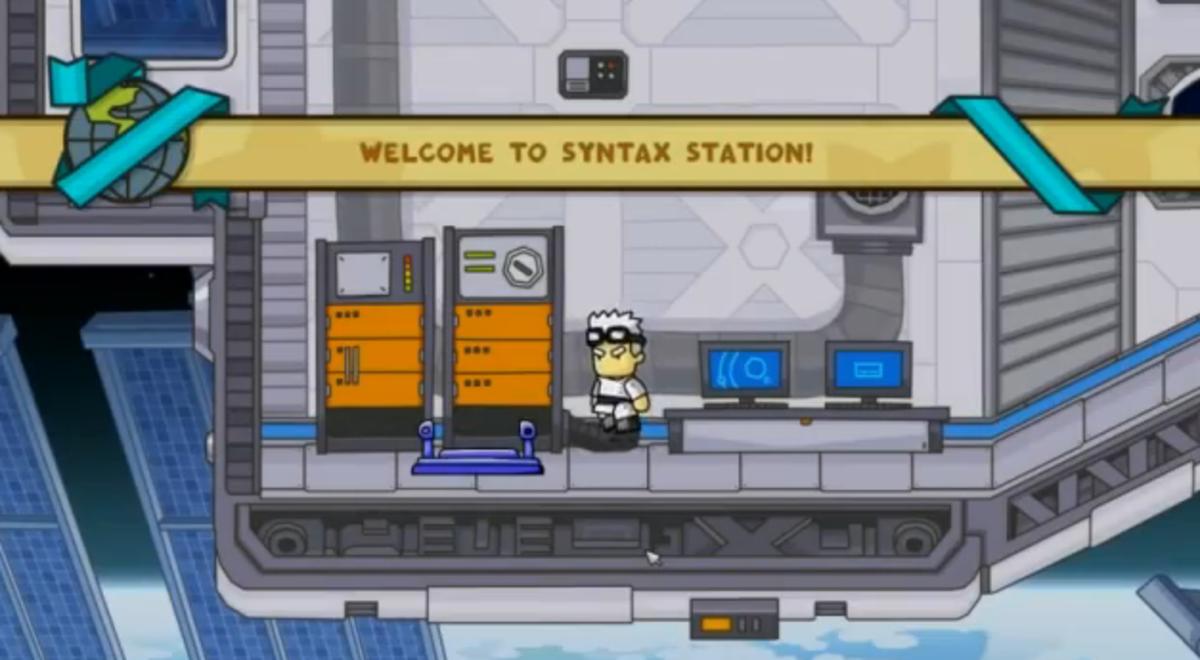scribblenauts-unlimited-walkthrough-syntax-station
