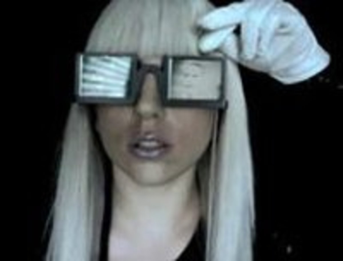 How to Make Your Own Lady Gaga Sunglasses