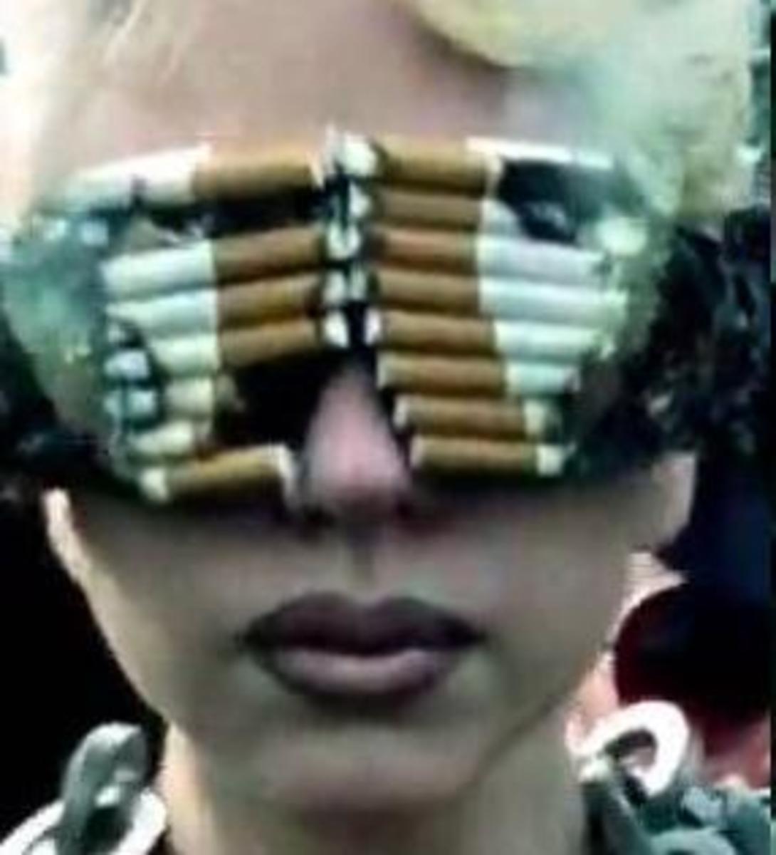 Smoking shades