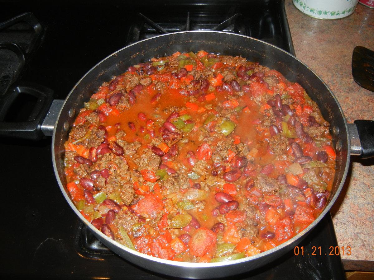 Deer Meat Chili Recipe